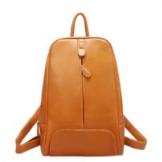 กระเป๋าเป้ แฟชั่นเกาหลีสวยน่ารักอินเทรนด์ นำเข้า สีน้ำตาล - พร้อมส่งBBB0417 ราคา1100บาท