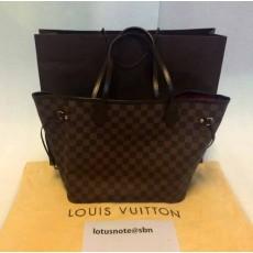 กระเป๋าหลุยส์ Louis Vuitton Neverfull MM Damier Made in France มือสองของแท้ - พร้อมส่ง ราคา25900บาท