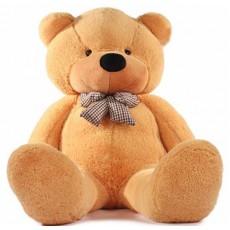 ตุ๊กตาหมี80ซม. ตัวใหญ่ ของขวัญพิเศษหรือใช้ในงานแต่งงาน สีน้ำตาล - พร้อมส่ง029 ราคา790บาท