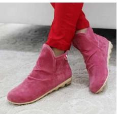 รองเท้าผ้าใบ Sneakers หุ้มข้อแฟชั่นเกาหลี นำเข้า ไซส์34ถึง39 สีแดง - พรีออเดอร์HS167-1 ราคา1250บาท