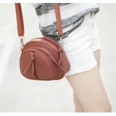 กระเป๋าสะพายข้าง ใบเล็กแฟชั่นเกาหลีผู้หญิงสไตล์แคนดี้ Candy Bag นำเข้า สีน้ำตาล - พร้อมส่งIS0012 ราคาลดถูกๆ