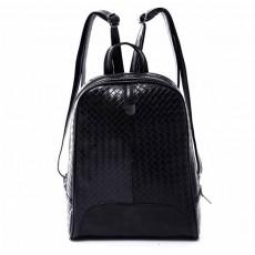 กระเป๋าเป้ สะพายหลังลายหนังสานแฟชั่นเกาหลีผู้หญิงรุ่นใหม่ล่าสุดหนังดีมาก นำเข้า สีดำ - พร้อมส่งIS1014 ราคา990บาท