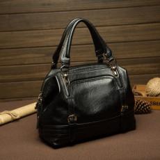 กระเป๋าหนังแท้ผู้หญิง ดีไซน์แบรนด์ทั้งสะพายและถือทำงานหรูแฟชั่นใหม่ นำเข้า สีดำ - พรีออเดอร์IS1020 ราคา3500บาท