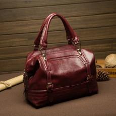 กระเป๋าหนังแท้ผู้หญิง ดีไซน์แบรนด์ทั้งสะพายและถือทำงานหรูแฟชั่นใหม่ นำเข้า สีแดง - พรีออเดอร์IS1020 ราคา3500บาท
