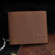 กระเป๋าสตางค์ผู้ชาย แบบสั้นเป็นหนังแฟชั่นวินเทจบางสวยเท่ใส่บัตรได้เยอะ นำเข้า สีน้ำตาล - พร้อมส่งIS1032 ราคา350บาท