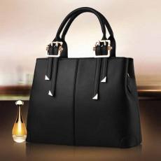 กระเป๋าหนังทำงาน ดีไซน์แบรนด์ทั้งสะพายและถือเรียบหรูแฟชั่นใหม่ นำเข้า สีดำ - พรีออเดอร์IS1065 ราคา1450บาท