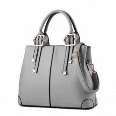 กระเป๋าหนังทำงาน ดีไซน์แบรนด์ทั้งสะพายและถือเรียบหรูแฟชั่นใหม่ นำเข้า สีเทา - พรีออเดอร์IS1065 ราคา1450บาท
