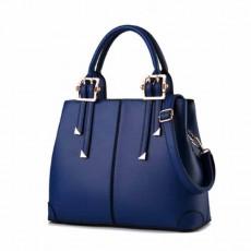 กระเป๋าหนังทำงาน ดีไซน์แบรนด์ทั้งสะพายและถือเรียบหรูแฟชั่นใหม่ นำเข้า สีน้ำเงิน - พรีออเดอร์IS1065 ราคา1450บาท