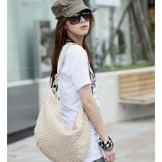 กระเป๋าหนังสาน แฟชั่นเกาหลี สวยน่ารักมาก นำเข้า สีเบจ - พร้อมส่งIS169 ราคา625บาท