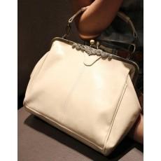 กระเป๋าสะพาย แฟชั่นเกาหลี วินเทจ ใหม่สวย นำเข้า สีขาวครีม - พรีออเดอร์IS505  ราคา900บาท
