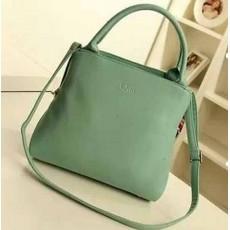 กระเป๋าสะพาย สวยสไตล์แบรนด์หรูสีหวาน นำเข้า สีเขียว - พร้อมส่งIS968 ราคา890บาท [หมดค่ะ]