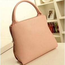 กระเป๋าผู้หญิง แฟชั่นเกาหลีสวยใช้ได้2ทรง นำเข้า สีชมพู - พร้อมส่งIS968 ราคา890บาท [หมดค่ะ]