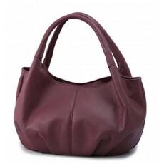 กระเป๋าถือ แฟชั่นเกาหลีหนังดีช่องเยอะน้ำหนักเบา นำเข้า สีม่วง - พร้อมส่งIS969 ราคา850บาท [หมดค่ะ]