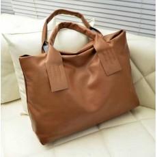 กระเป๋าสะพาย สวยแนววินเทจใบใหญ่แบบเกาหลี นำเข้า สีกาแฟ - พร้อมส่งIS970 ราคา790บาท [หมดค่ะ]