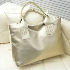 กระเป๋าทำงาน สวยแนวใหม่หนังดีมากใบใหญ่และเบา นำเข้า สีทอง - พร้อมส่งIS970 ราคา790บาท [หมดค่ะ]