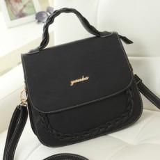 กระเป๋าสะพาย แฟชั่นเกาหลีสวยใหม่ใช้ได้หลายโอกาส นำเข้า สีดำ - พรีออเดอร์IS979 ราคา995บาท [หมดค่ะ]