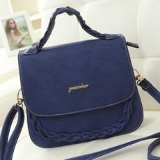 กระเป๋าสะพาย แฟชั่นเกาหลีสวยใหม่ใช้ได้หลายโอกาส นำเข้า สีน้ำเงิน - พรีออเดอร์IS979 ราคา995บาท [หมดค่ะ]