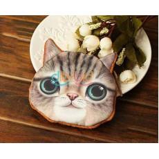 กระเป๋าสตางค์รูปแมว แฟชั่นเกาหลีใส่เงินเหรียญน่ารัก นำเข้า สีน้ำตาล - พร้อมส่งIS988 ราคา250บาท