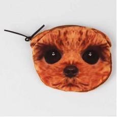 กระเป๋าสตางค์รูปหมาชิสุห์ สีน้ำตาลแฟชั่นเกาหลีใส่เงินเหรียญน่ารัก นำเข้า - พร้อมส่งIS989 ลดราคา99บาท