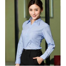 เสื้อเชิ้ตแขนยาว ทำงานแฟชั่นเกาหลีผู้หญิงไซส์คนอ้วนใหญ่พิเศษ นำเข้า ไซส์S-4XL สีฟ้า - พรีออเดอร์KD1601 ราคา1150บาท