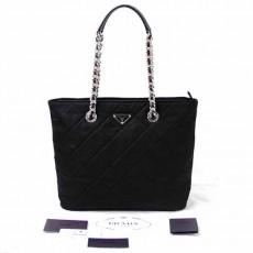 PRADA 1BG017 TESSUTO IMPUNTO BAG NERO BLACK กระเป๋าพราด้าแท้ใช้ครั้งเดียวเหมือนใหม่ ราคา20900บาท