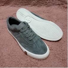 รองเท้าผ้าใบคัทชูหุ้มส้นหนังกลับอินเทรนด์แฟชั่นเกาหลีนุ่มสบายเท้า นำเข้า ไซส์37-38 สีเทา พร้อมส่งBS0123 ราคา650บาท