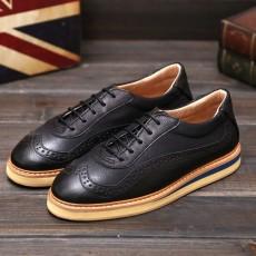 รองเท้าหนังผู้ชาย แฟชั่นเกาหลีเท่ลุคใหม่loaferลำลองมีเชือก นำเข้า ไซส์39ถึง43 สีดำ - พรีออเดอร์MA5602 ราคา2450บาท