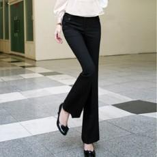 กางเกง ทำงาน แฟชั่นเกาหลี ฟอร์มพนักงาน นำเข้า ไซส์S/M/XL สีดำ - พรีออเดอร์MI523 ราคา1550บาท