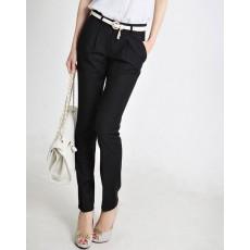 กางเกง ทำงาน แฟชั่นเกาหลี ฟอร์มพนักงาน นำเข้า ไซส์S/M/L/XL สีดำ - พรีออเดอร์MI574 ราคา1995บาท