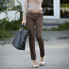 กางเกง ทำงาน แฟชั่นเกาหลี ฟอร์มพนักงาน นำเข้า ไซส์M/L/XL สีน้ำตาล - พรีออเดอร์MI577 ราคา1950บาท