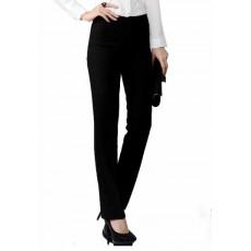 กางเกง แฟชั่นเกาหลีผู้หญิงใส่ทำงานสวย นำเข้าไซส์Sถึง3XL สีดำ - พรีออเดอร์MS4024 ราคา1250บาท