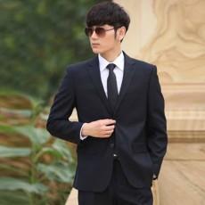เสื้อสูทผู้ชาย แฟชั่นเกาหลีกระดุม2เม็ดใส่ทำงานออกงานแต่งงาน นำเข้า Mถึง3XL สีกรมท่า - พรีออเดอร์MS4252  ราคา1995บาท