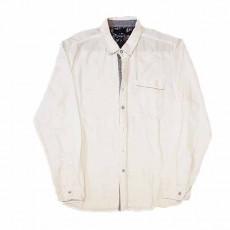 เสื้อเชิ้ตผู้ชาย แขนยาวสีขาวแฟชั่นเกาหลีใส่ลุคทำงานอินเทรนด์เท่แมน นำเข้า ไซส์ XL - พร้อมส่งMS4256 ราคา350บาท