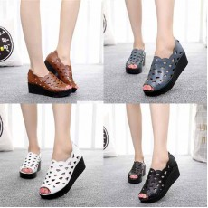 รองเท้าส้นเตารีดหนังแท้เพื่อสุขภาพแฟชั่นเกาหลี ไซส์35-40 นำเข้า พรีออเดอร์BS0129 ราคา2350บาท