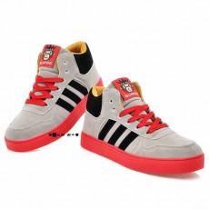 รองเท้าผ้าใบ แฟชั่นเกาหลีสวมใส่สบาย นำเข้า ไซส์36ถึง43 สีเทา - พรีออเดอร์RB2005 ราคา1350บาท