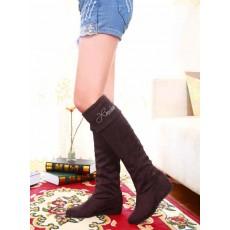 รองเท้าบูท แฟชั่นเกาหลีสวมใส่สบาย นำเข้า ไซส์34ถึง43 สีกาแฟ - พรีออเดอร์RB2006 ราคา1650บาท