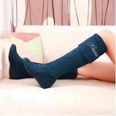 รองเท้าบูท แฟชั่นเกาหลีสวมใส่สบาย นำเข้า ไซส์34ถึง43 สีน้ำเงิน - พรีออเดอร์RB2006 ราคา1650บาท