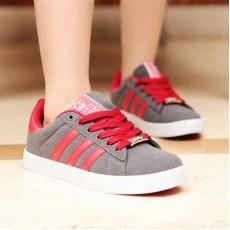 รองเท้าผ้าใบ แฟชั่นเกาหลี Top Shoe นำเข้า ไซส์36ถึง40 สีเทา - พรีออเดอร์RB2032 ราคา1300บาท