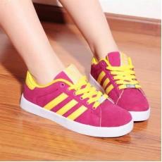 รองเท้าผ้าใบ แฟชั่นเกาหลี Top Shoe นำเข้า ไซส์36ถึง40 สีชมพู - พรีออเดอร์RB2032 ราคา1300บาท