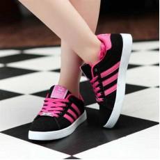 รองเท้าผ้าใบ แฟชั่นเกาหลี Top Shoe นำเข้า ไซส์36ถึง40 สีดำ - พรีออเดอร์RB2032 ราคา1300บาท