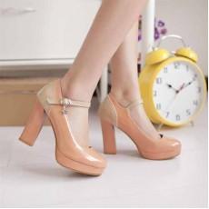 รองเท้าส้นสูง แฟชั่นเกาหลีสวยหรูลุคหวาน นำเข้าไซส์34ถึง43 สีชมพู - พรีออเดอร์RB2044 ราคา1540บาท