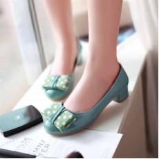รองเท้าส้นเตี้ย แฟชั่นเกาหลีผู้หญิงสวมสบาย นำเข้า ไซส์34ถึง43 สีฟ้า - พรีออเดอร์RB2046 ราคา1370บาท