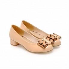 รองเท้าส้นเตี้ย แฟชั่นเกาหลีผู้หญิงสวมสบาย นำเข้า ไซส์34ถึง43 สีเบจ - พรีออเดอร์RB2046 ราคา1370บาท