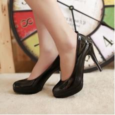 รองเท้าส้นสูง แฟชั่นเกาหลีผู้หญิงทำงานเรียบๆ นำเข้าไซส์34ถึง39 สีดำ - พรีออเดอร์RB2061 ราคา1350บาท