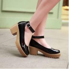 รองเท้าส้นสูง แฟชั่นเกาหลีสวยมั่นใจตามรูป นำเข้าไซส์34ถึง43 สีดำ - พรีออเดอร์RB2088 ราคา1700บาท