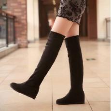 รองเท้าบูทยาว แฟชั่นเกาหลีพับได้ใส่สบาย นำเข้า ไซส์34ถึง39 สีดำ - พรีออเดอร์RB2201 ราคา1950บาท