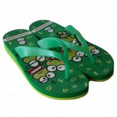 รองเท้าแตะมีส้น แบบหนีบสวย KeroKeroKeroppi Sanrio ลิขสิทธิ์ของแท้ ไซส์38-39 สีเขียว - พร้อมส่งRB2241 ราคา590บาท
