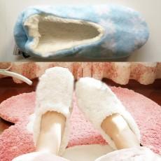 รองเท้าใส่ในบ้าน ที่ทำงานออกกำลังกายและเล่นโยคะเพื่อสุขภาพเท้า นำเข้า ฟรีไซส์ สีฟ้า - พร้อมส่งRB2333O ราคา390บาท