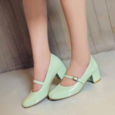 รองเท้าส้นสูง แฟชั่นเกาหลีหุ้มส้นสายหนังรัดหลังเท้าสวมสบาย นำเข้า ไซส์33ถึง43 สีเขียว - พรีออเดอร์RB2345 ราคา1750บาท