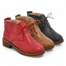 รองเท้าหนังแฟชั่น มีไซส์ใหญ่แนวแคชชวลใส่ได้ทั้งชายหญิง นำเข้าไซส์33ถึง43 สีแดง - พรีออเดอร์RB2350 ราคา1750บาท